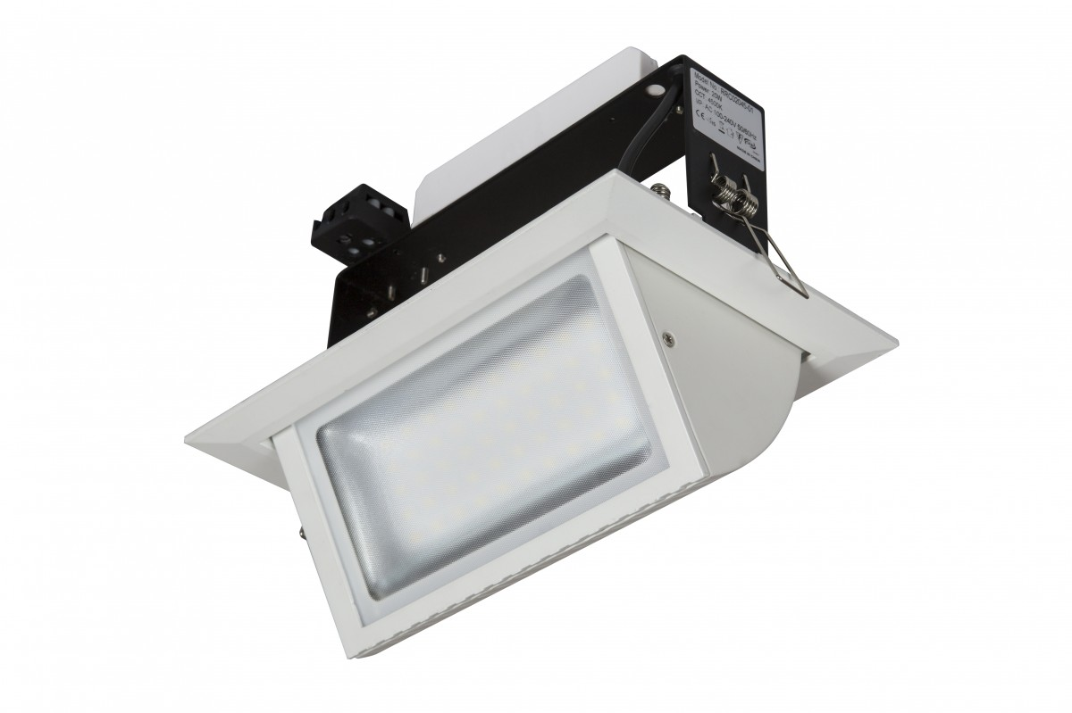 Recessed Lights Wall Washer : Rockstar LED 44W Recessed Wall Washer Genstar Lighting